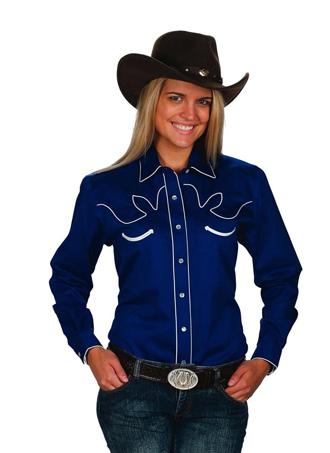 Women's Cotton Retro Western Cowboy Shirt