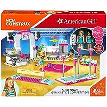 Mega Construx American Girl Mckenna's Gymnastics Competition Building Set