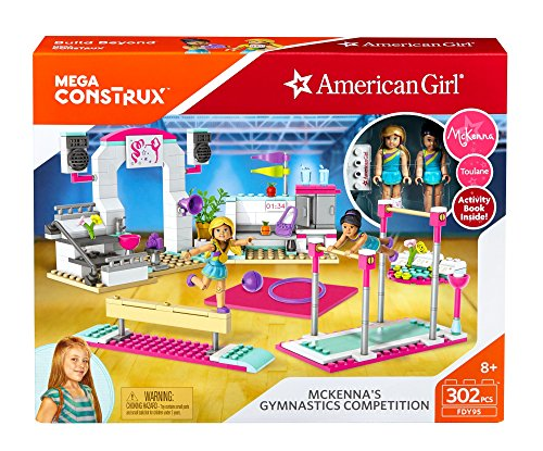 Mega Construx American Girl Mckenna's Gymnastics Competition Building Set