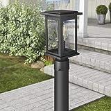 Emliviar Outdoor Post Light Fixtures, 1-Light