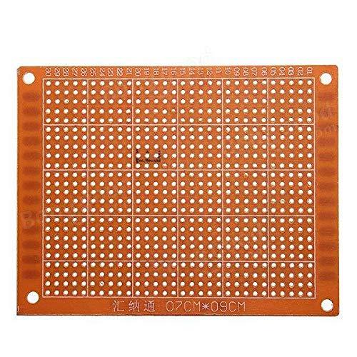 10Pcs 7x9cm Prototyping Printed Circuit Board Prototype Breadboard - Arduino Compatible SCM & DIY Kits Arduino Compatible SCM Components - 10 x 7 x 9cm PCB Printed Circuit Experimental Board