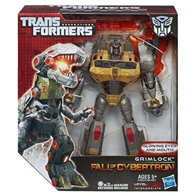 Transformers Generations Voyager Class Grimlock Figure 6.5 Inches: Toys & Games