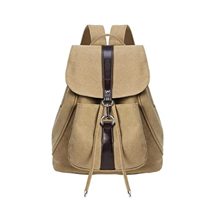 7fd6ecd9a0ac Amazon.com  Laideyilan Vintage Rucksack for Women Stylish Drawstring ...