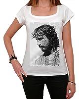 Passion Christ T-shirt Femme,Blanc, t shirt femme,cadeau