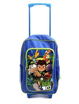 Ben 10 1019HV-7368 Deluxe - Mochila para Carrito, Color Azul, Negro y Verde: Amazon.es: Juguetes y juegos
