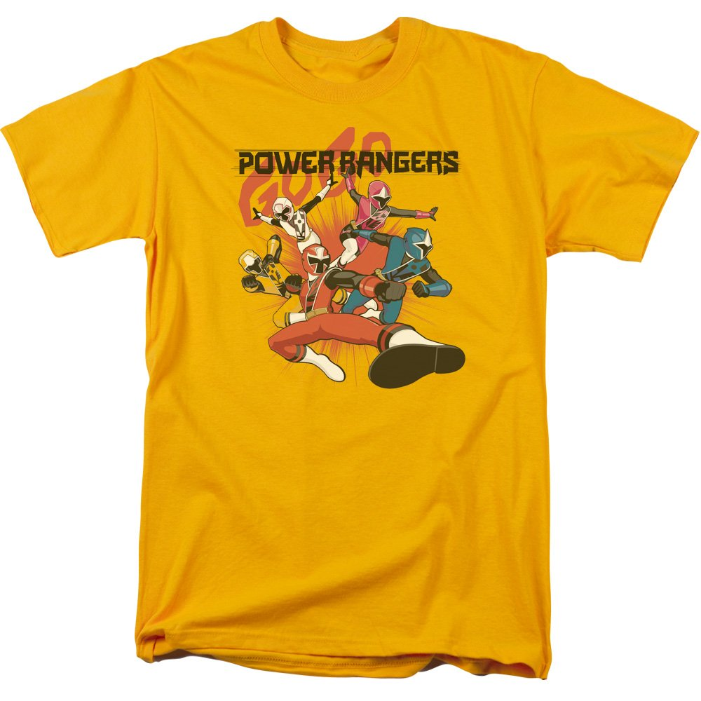 Power Rangers Ninja Steel Attack - Camiseta para Adulto ...