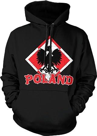 Escudo del orgullo polaco de armas de Polonia Sudadera