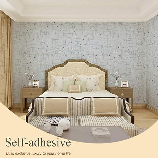 LZYMLG Papel pintado autoadhesivo de celos/ía a rayas n/órdicas dormitorio masculino sala de estar tienda de ropa decoraci/ón de la pared pegatinas C