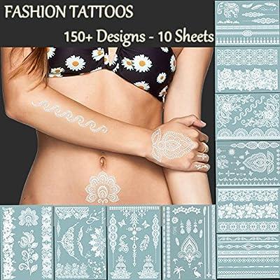 Tatuajes de encaje blanco de alta calidad – más de 150 diseños ...