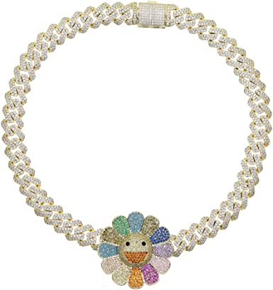 Earring and Bracelet CCH-147 Micro Pave CZ Enamel Love Charm Rainbow CZ Charm for Necklace