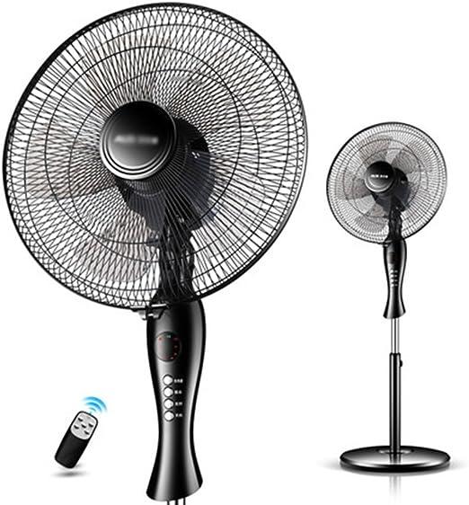 ZSMPY Ventilador De Suelo Silencioso Ventilador De Refrigeración para El Hogar Y La Oficina (Negro): Amazon.es: Hogar