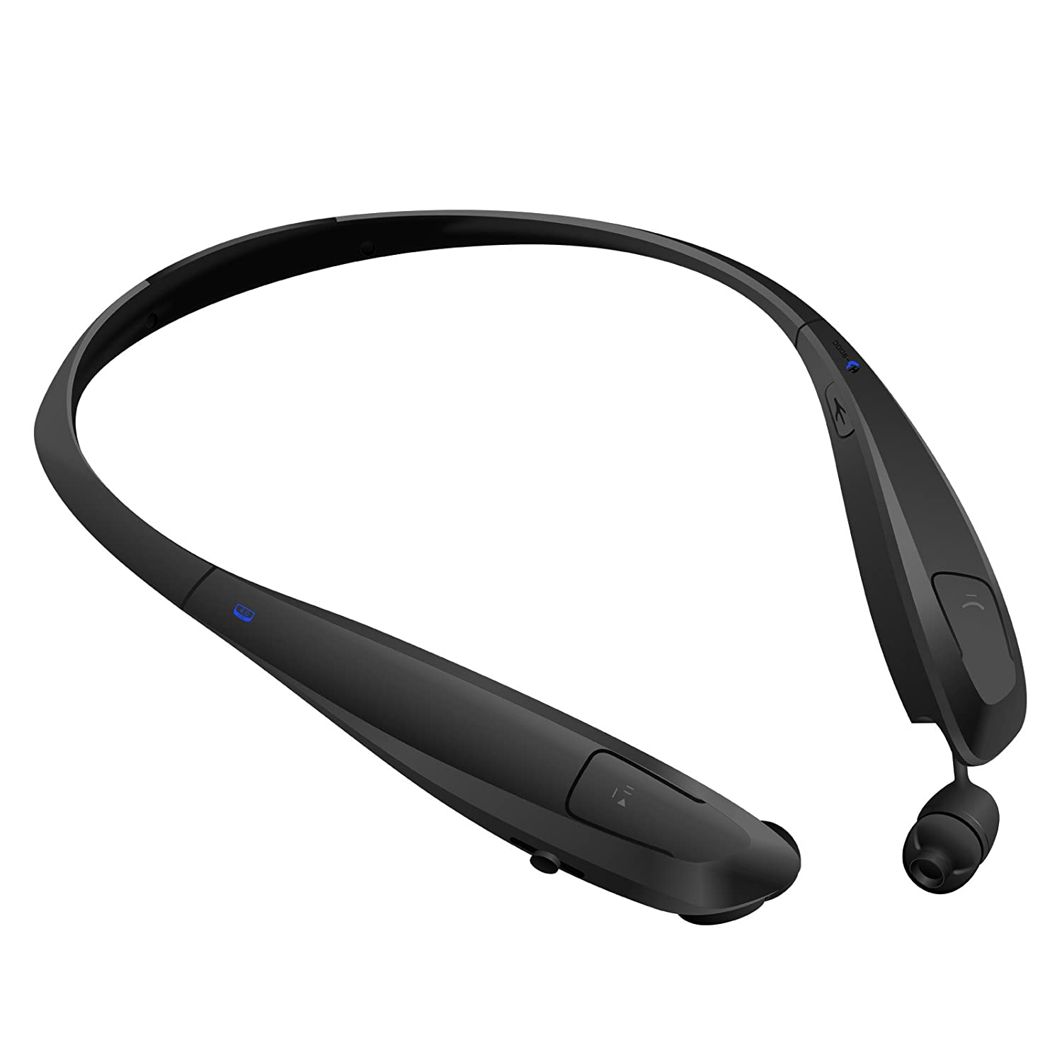 rymemo auto wire retraction bluetooth headphones hb 900c neckband earpiece bluetooth headset. Black Bedroom Furniture Sets. Home Design Ideas
