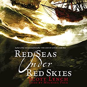 Red Seas Under Red Skies Audiobook