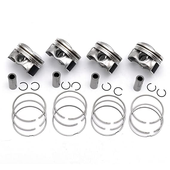 Amazon Com Bocid 4 Pack Pistons Rings 82 5mm 21mm For Audi A3 A4