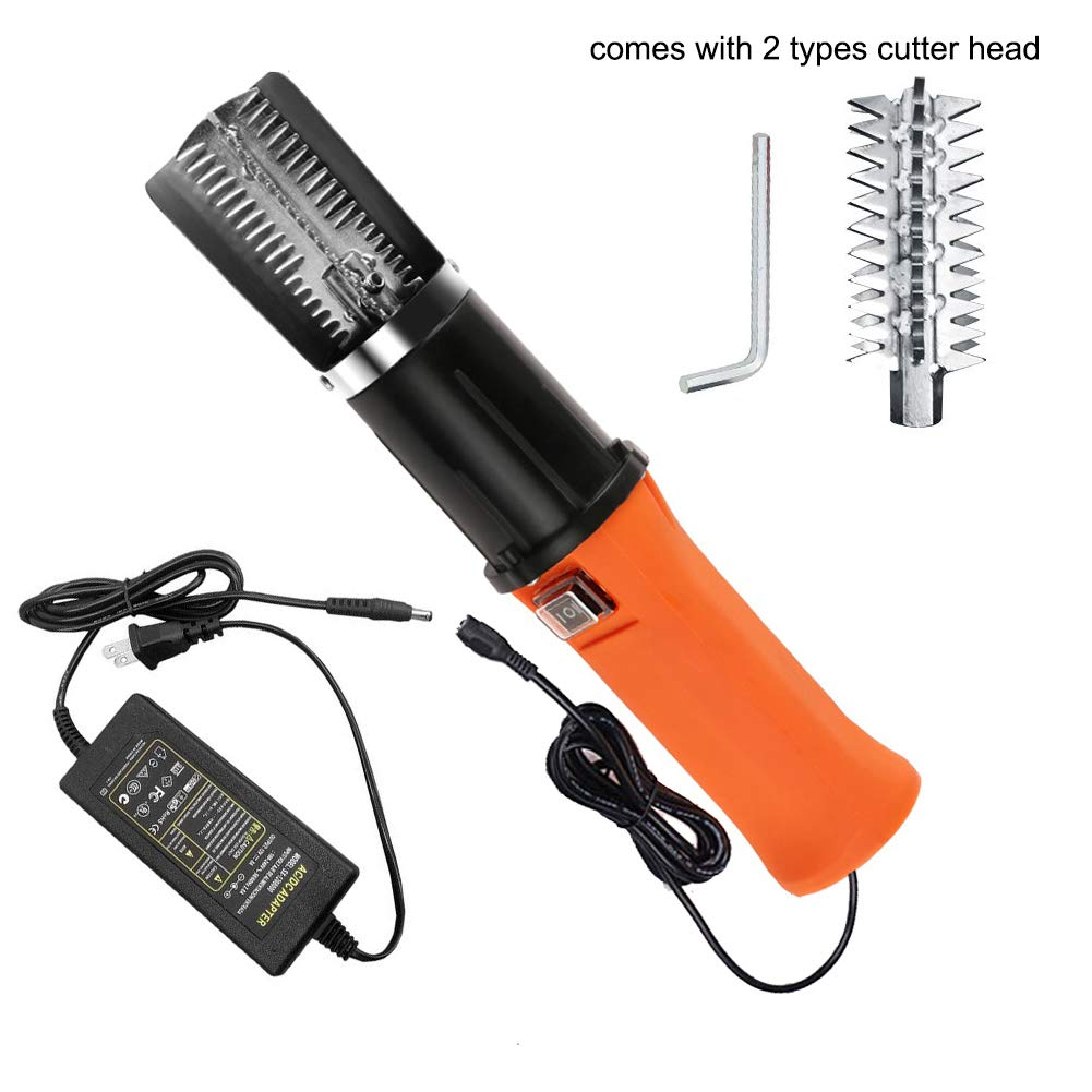 Speder Fish Scaler Corded Electric Fish Scaler Remover Scraper Cleaner Kit Comes with Extra Cutter Head for Scaling Fish