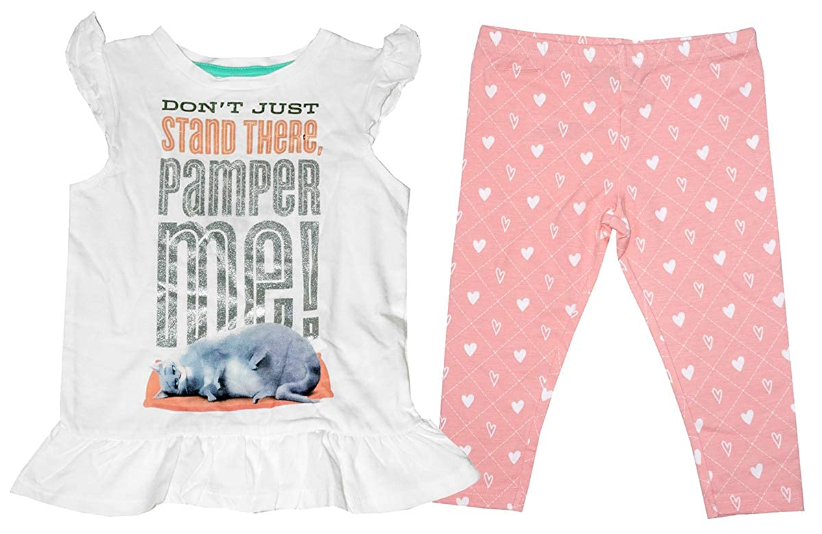 Get Wivvit Girls Secret Life of Pets Pamper Me T-Shirt /& Leggings Set Sizes from 12 Months to 8 Years