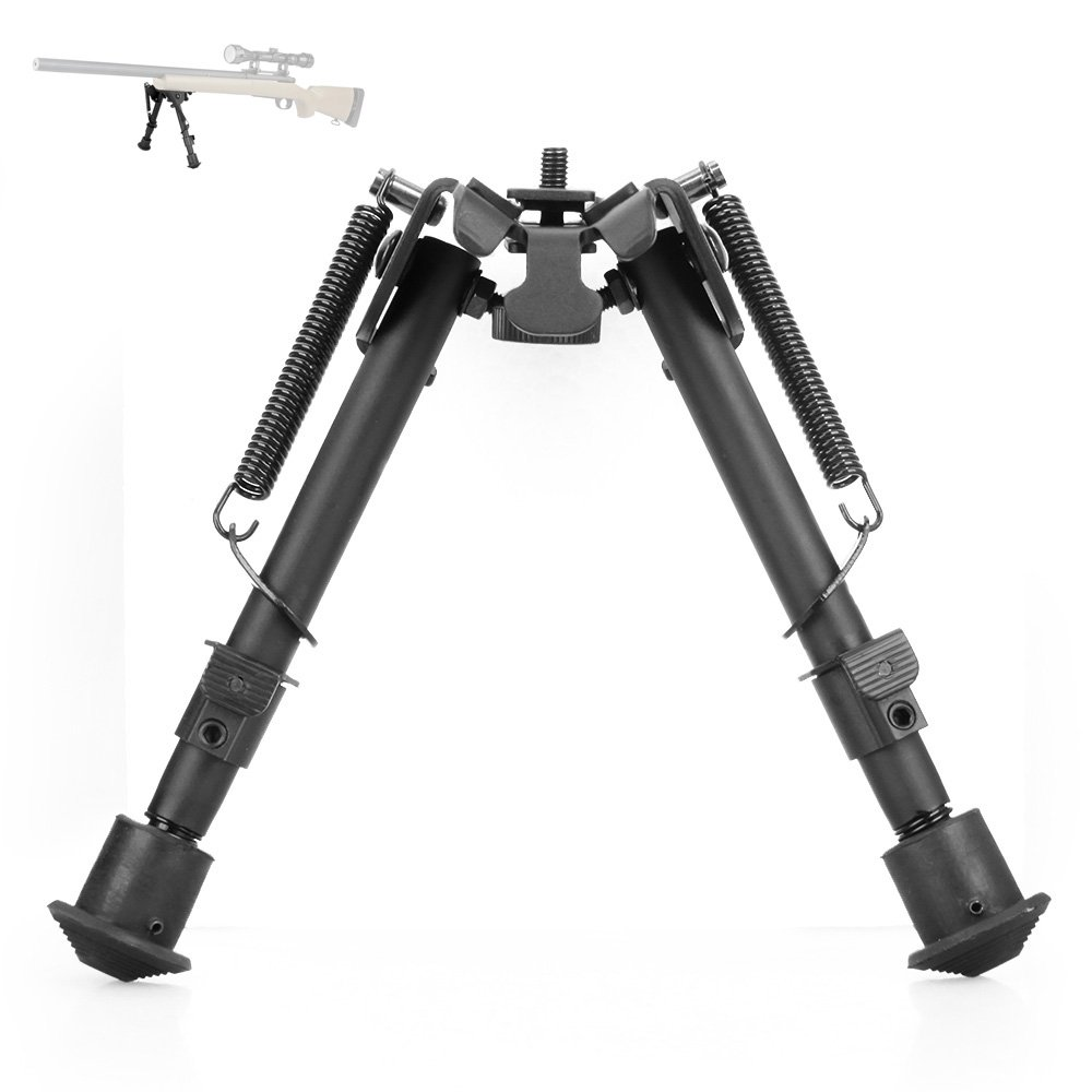 Canis Latrans Tactical QD Rifle Bipod Quicklock 6-9 Inch Adjustable Spring Return With Free Wrench