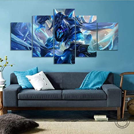Amazon Com Surgkd Helcurt Mobile Legends Game Poster Canvas Art Hd Wall Painting For Home Decorno Framed20x35cm20x45cm20x55cm Posters Prints
