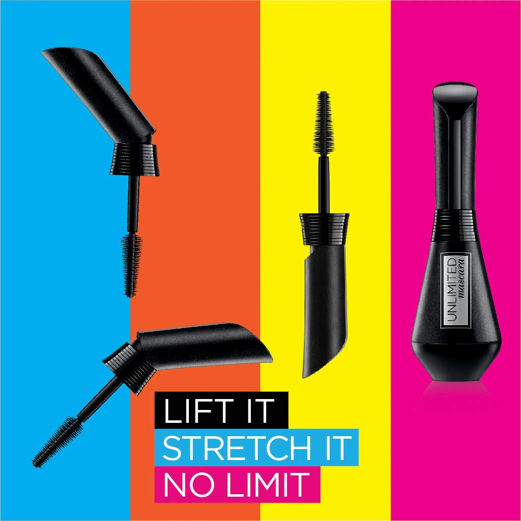 68767eb4601 L'Oreal Paris Cosmetics Unlimited Lash Lifting and Lengthening Washable  Mascara