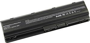 5200mAh 593553-001 Batería del ordenador portátil para HP Pavilion DV6-3000 DV6-4000 DV6-6000 DV7-4000 DV7-5000 DV7-6000, G4 G6 G7 G4-1000 G6-1000 COMPAQ Presario CQ32 CQ42 CQ56 CQ62 CQ72 593554-001