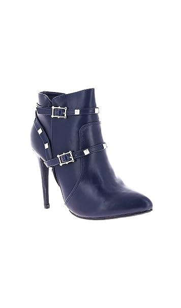 ab13721ca Zaza Pata Botines Lucile Azul Marino Mujer Colección Otoño Invierno   Amazon.es  Zapatos y complementos