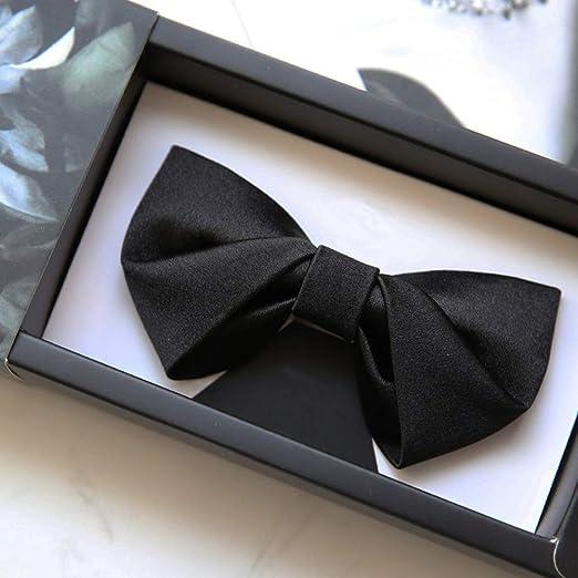 YBWEN Pajarita de los Hombres Corbata de moño Formal para Hombre ...