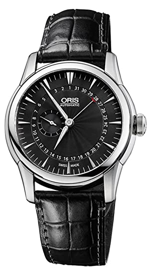 Oris Artelier Automatic Small Second Pointer Date Steel Mens Strap Watch 744-7665-4054