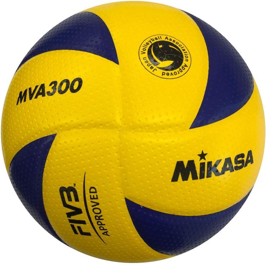 Mikasa Mva 300 Indoors Volley Ball 5 Mehrfarbig Amazon Co Uk Sports Outdoors