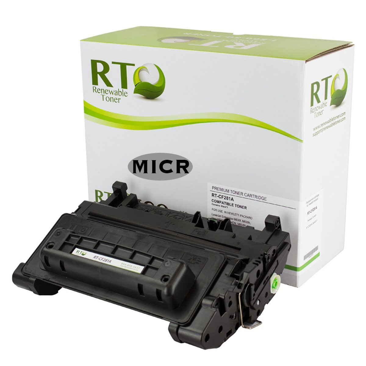 4PCS High Yield CF281A 81A Toner Cartridge For HP Enterprise MFP M604 M605 M630