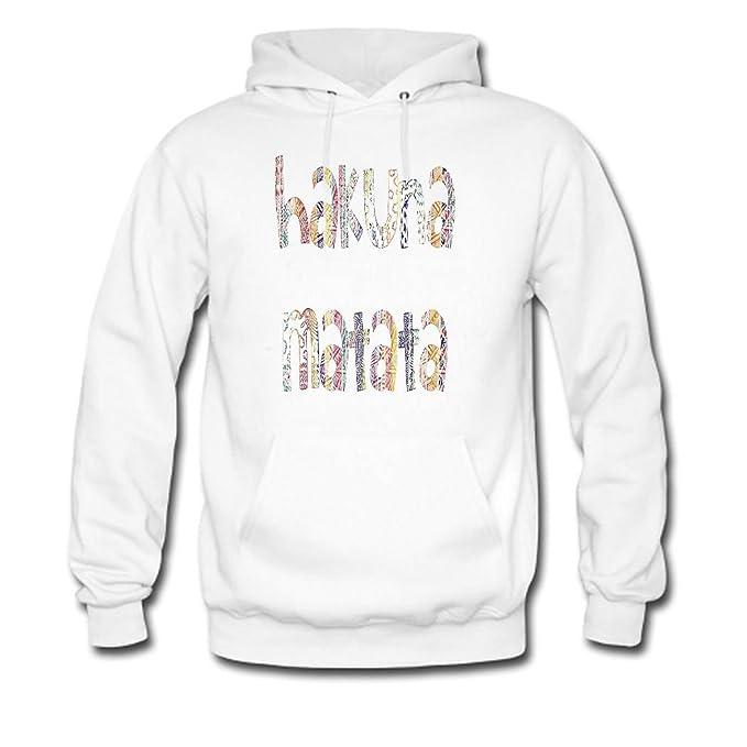 HKdiy Hakuna Matata Custom Classic Men Hoodie: Amazon.es: Ropa y accesorios