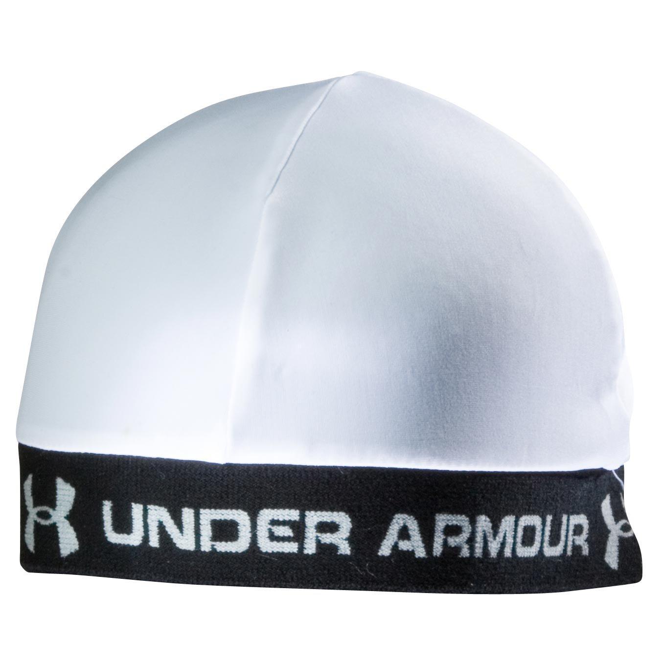 under armour black skull cap