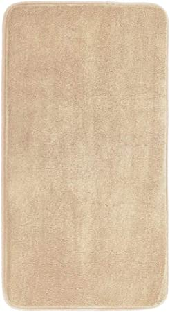 MAYSHINE Memory Foam Bathroom Rugs Non-Slip Water Absorbent Fast Dry Luxury Soft Bath mat 17x24 Inches, Brown