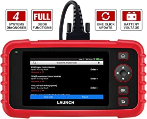 LAUNCH Code Reader – CRP123X OBD2 Scanner for Engine Transmission ABS SRS Code Reader