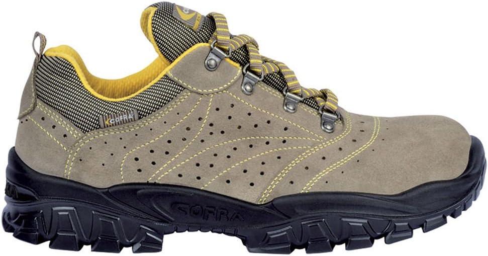 Cofra NT290-000.W44 Chaussures de s/écurit/é New Nilo S1 SRC Taille 44 Gris