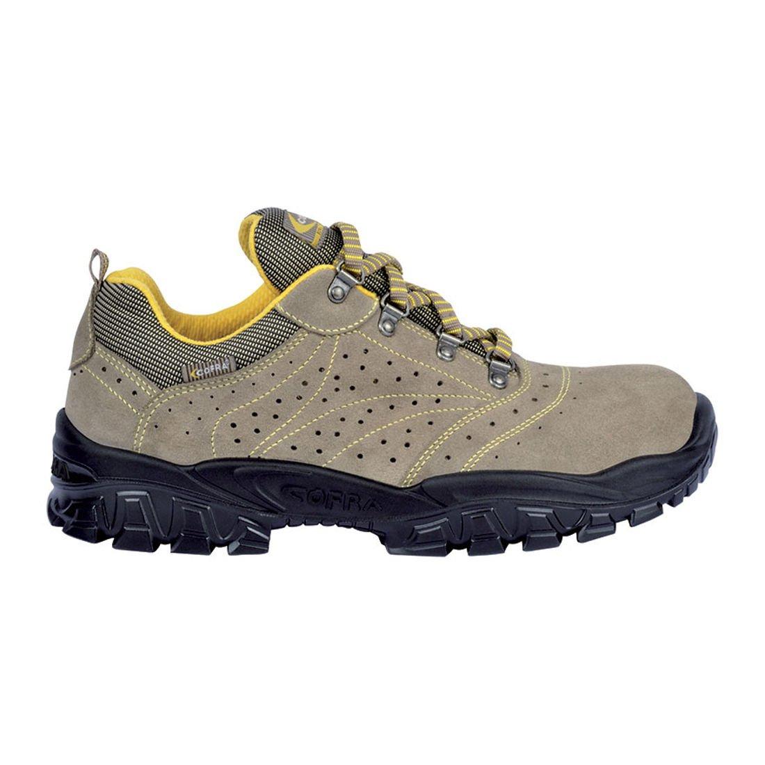 Cofra NT290-000.W38 Chaussures de sécurité'New Nilo S1 SRC' Taille 38 Gris