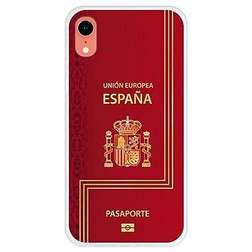 Hapdey Funda Transparente para [ iPhone XR ] diseño [ Pasaporte ...