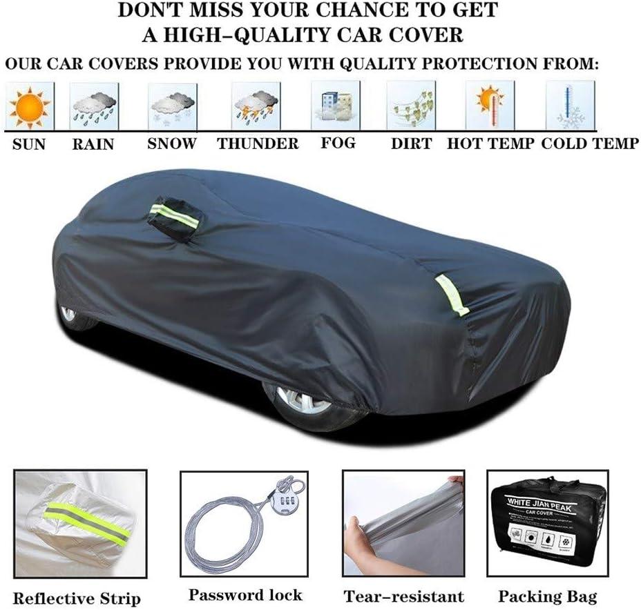 ZMQWE Telo Copriauto Compatibile con Maserati Levante Ghibli Quattroporte Coupe Telo Copriauto da Esterno Protezione per Qualsiasi Tempo Impermeabile e Antipolvere,ECC,Coupe