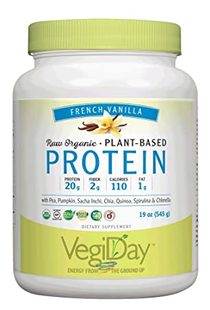 NATURAL FACTORS Vegan Vanilla Protein, 19.22 Ounce