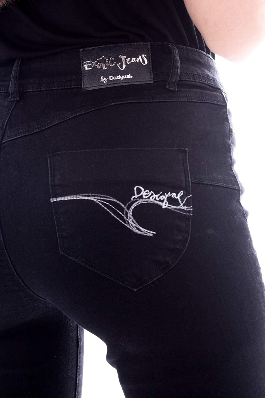 Desigual Jeans Donna Denim Basic 2nd Skin 19wwdd09