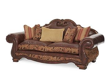 Amazon.com: Michael Amini 34915-BRICK-26 Tuscano Leather ...