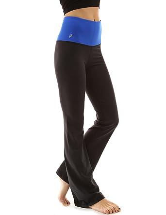 1f65ced5efb49 Amazon.com: PattyBoutik Women's Shaping Series Bootcut Yoga Pants: Clothing