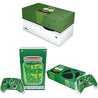 Capa Anti Poeira e Skin Xbox Series S - Pickle Rick And Morty