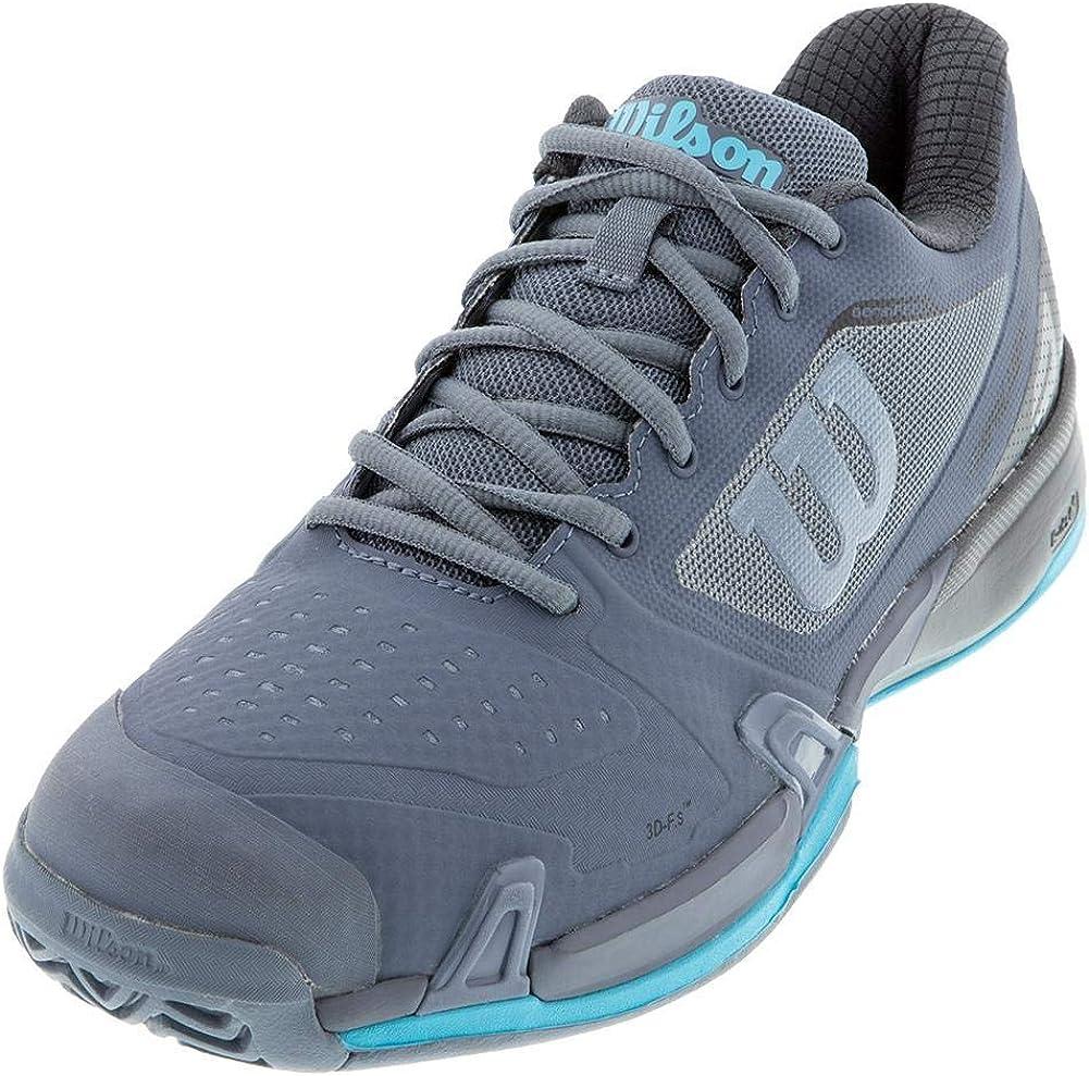 Wilson Mens Rush Pro 2.5 Platform Tennis Shoe Black//Orange  WRS324630