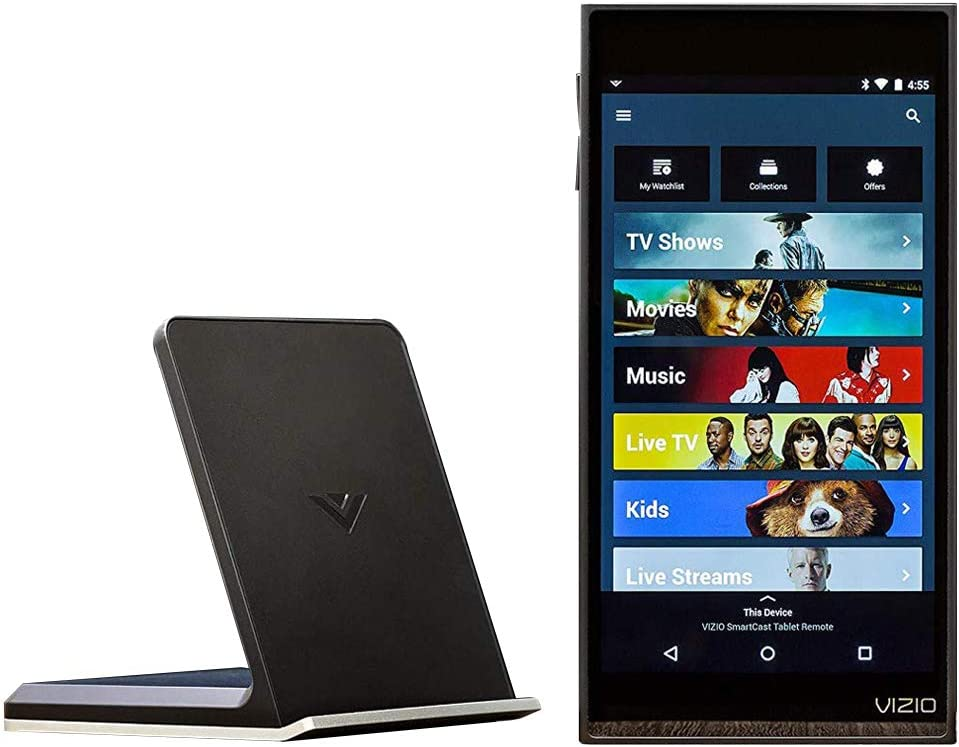 "Vizio XR6M10 6"" Touch Screen Android Tablet with Bluetooth and Smartcast Capabilities."