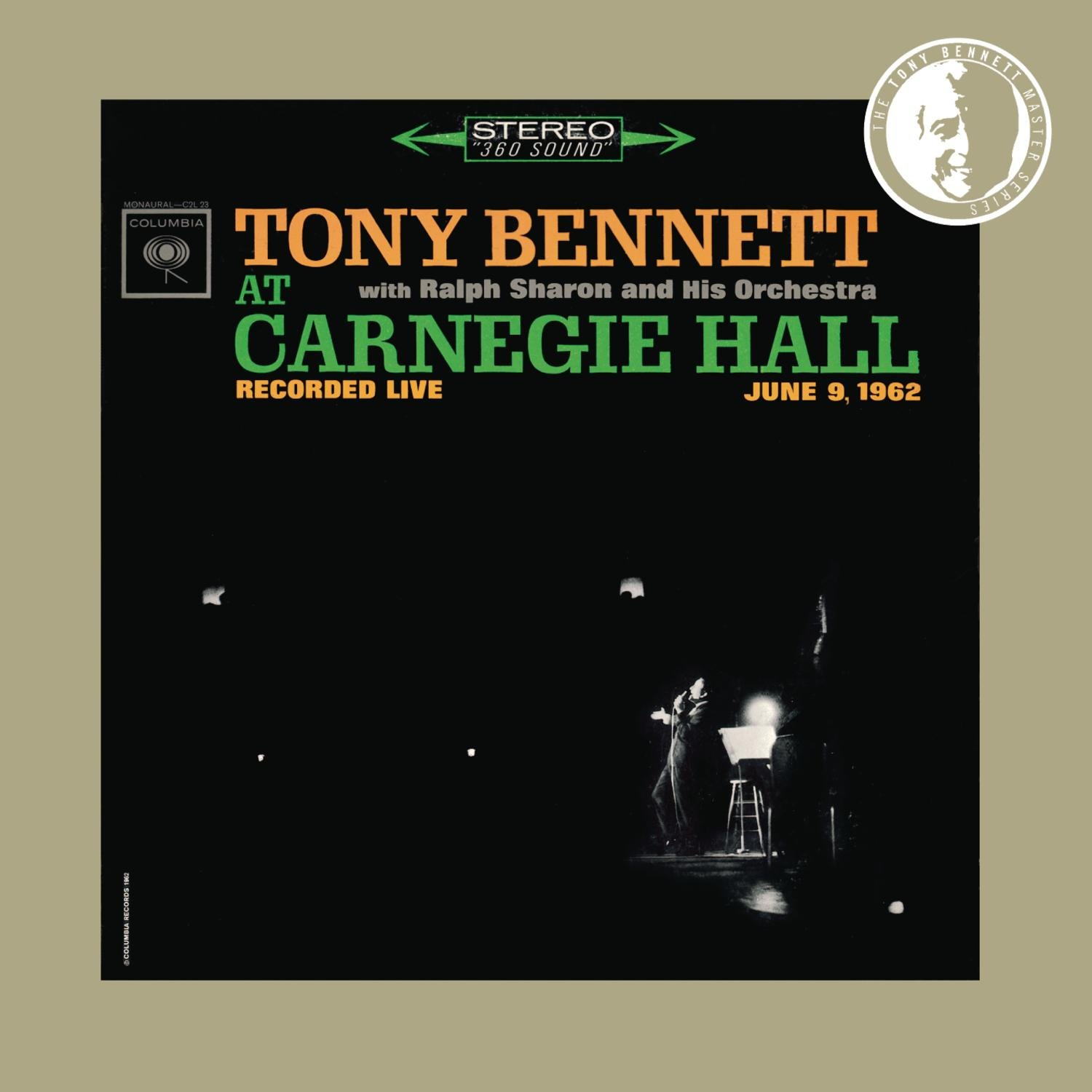 Tony Bennett at Carnegie Hall June 9 1962: Complete Concert by Columbia