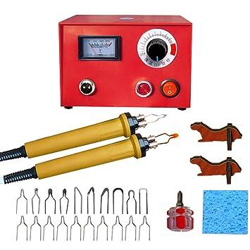 IDABAY Profesional Pluma de soldadura Kit de soldadura de temperatura ajustable de eléctrica de herramienta de