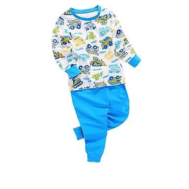 1d0f45aea1 Amazon.com  Boys Car Dinosaur Pajamas 100% Cotton Halloween ...