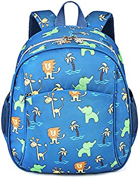 COOFIT Animal Printed Nylon Kids School Backpack