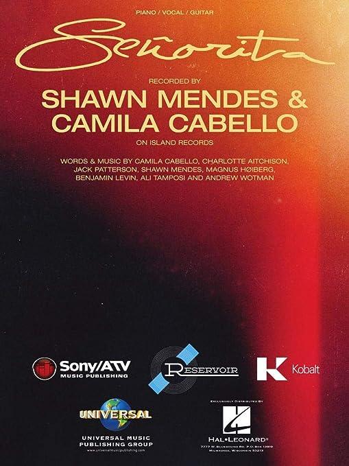 Shawn Mendes, Camila Cabello – Señorita – partitura de música ...