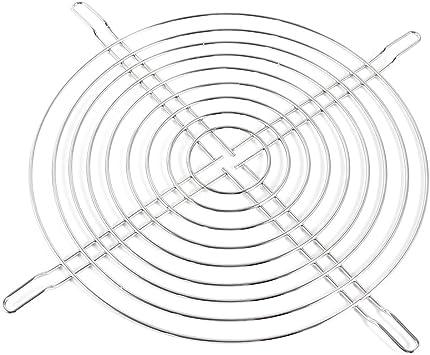 sourcing map Metal PC de sobremesa Ventilador para Caja Rejilla ...